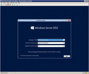 hyper-v install OS